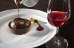almoço Astoria tarte de chocolate