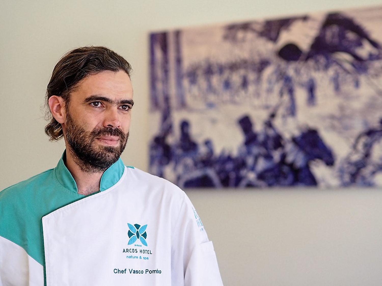 Vasco Pombo é o novo chef executivo do Arcos Hotel Nature & SPA