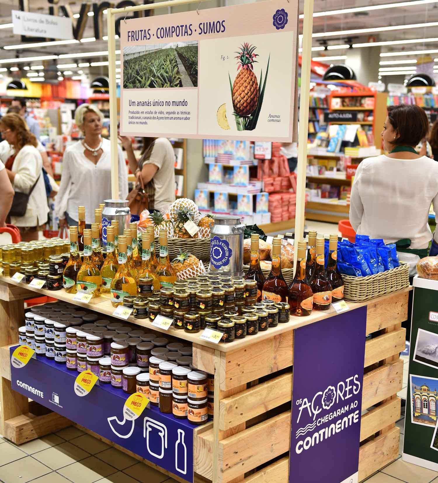 Continente compra 150 milhões aos Açores