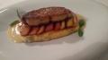 Foie-gras com rabanada de vinho do Porto
