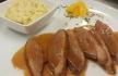 Zambeze Magret de pato com risotto de citrinos