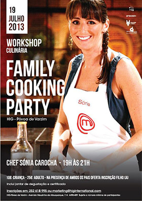 Workshop 'Family Cooking Party' (Chef Sónia Carocha) 300