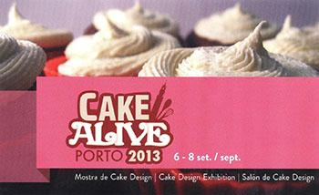 Cartaz Cake Alive 350