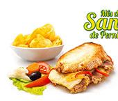 Sanduiche de pernil à Brasileira