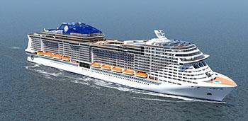 MSC NEW  CRUISES SHIP 350