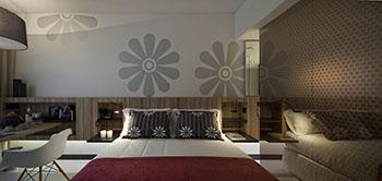 inspira hotel Quarto superior InLisbon 350