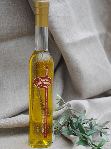 azeite com flocos de ouro golden reserve 380