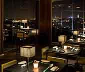 Alta cozinha japonesa no Silk Club