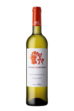 Vinha das Servas branco - garrafa_BR  250