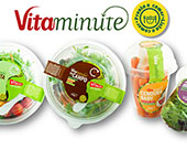 Nova gama de saladas Vitacress