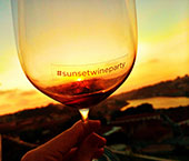 Sunset Wine Party no The Yeatman
