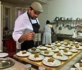 Pratos do chef Filipe Ramalho elogiados