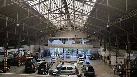 Imagens Interior Auto Palace 450