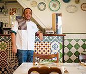 Chef Rodrigo Castelo em destaque