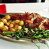 Mostra Gastronómica com Borrego
