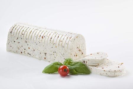 Queijo Fresco com Tomate e Manjericão 450