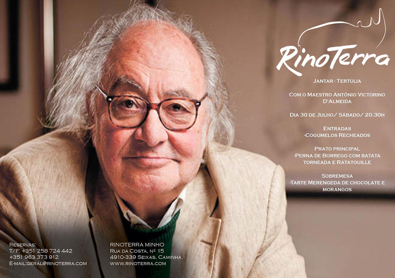 Jantar tertúlia com Vitorino d'Almeida