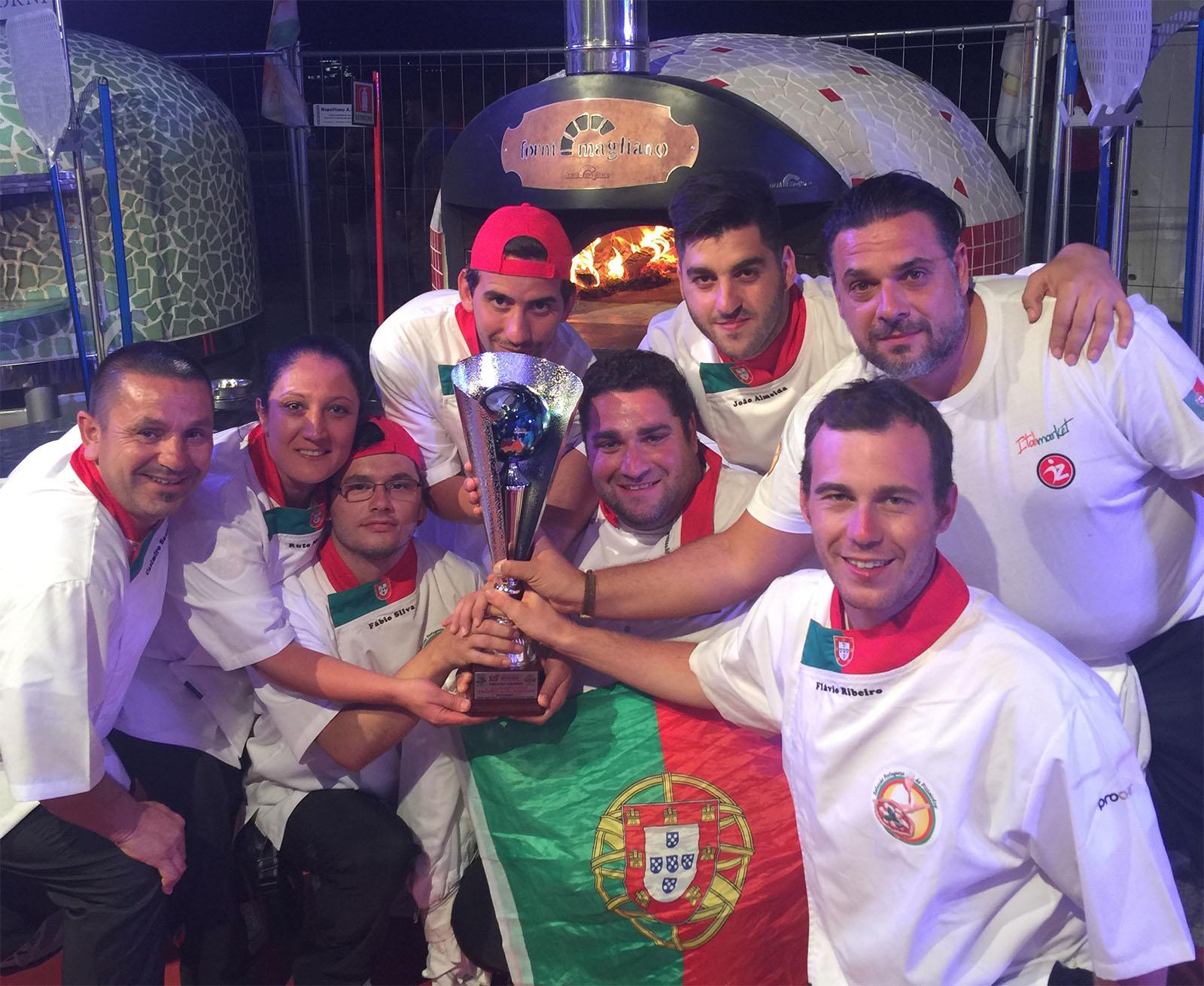 Selecção Portuguesa de Pizzaiolos campeã Mundial