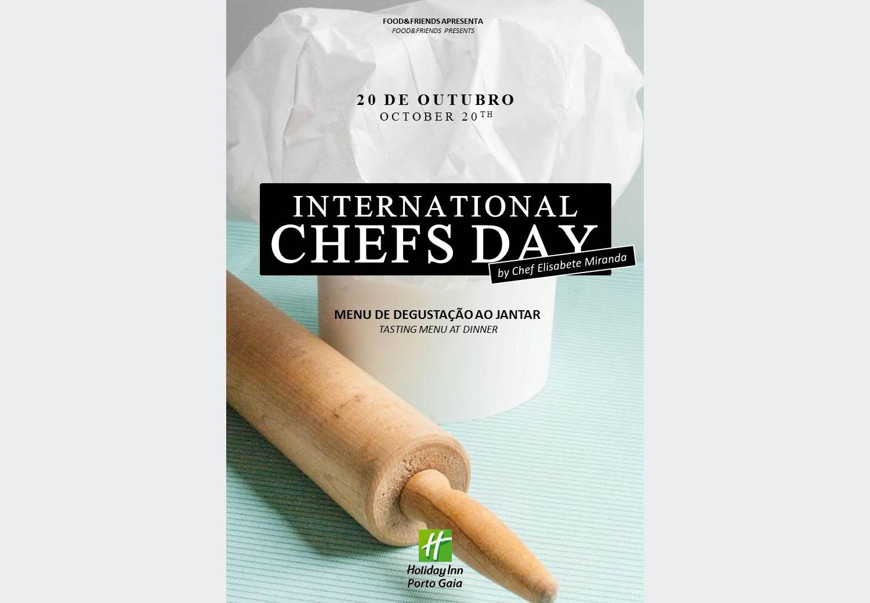 Dia Internacional dos Chefes de Cozinha à mesa do Holiday Inn Porto Gaia