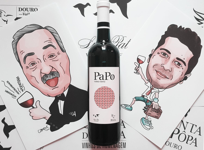 PaPo, um tinto que une Bairrada e Douro