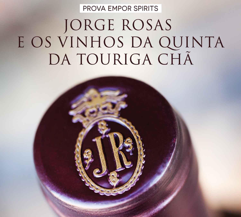 Jorge Rosas e os vinhos da Quinta da Touriga Chã