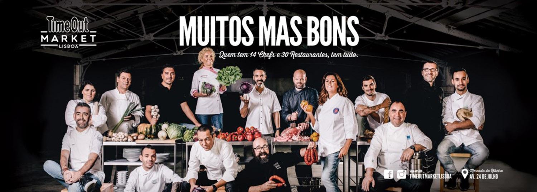 Conhecidos chefs nacionais são o rosto do Time Out Market