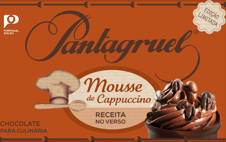 Pantagruel lança novo chocolate com aroma de cappuccino