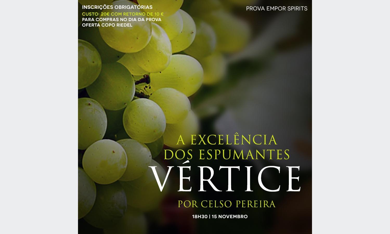 Espumantes Vértice por Celso Pereira na Empor Spirits & Wine
