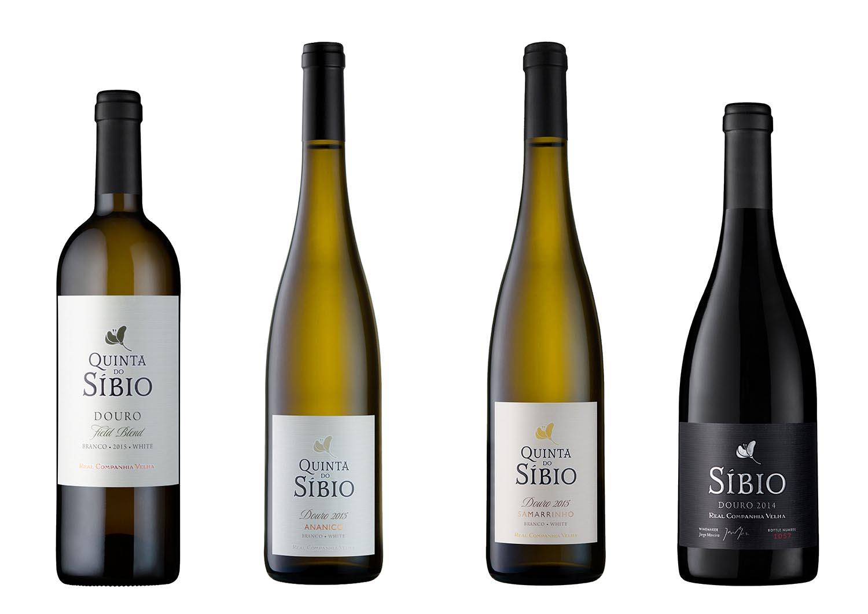 Novo vinhos da Quinta do Síbio
