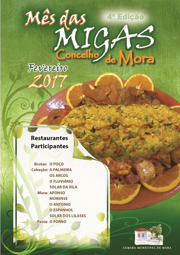 4ª edição do Mês das Migas em Mora