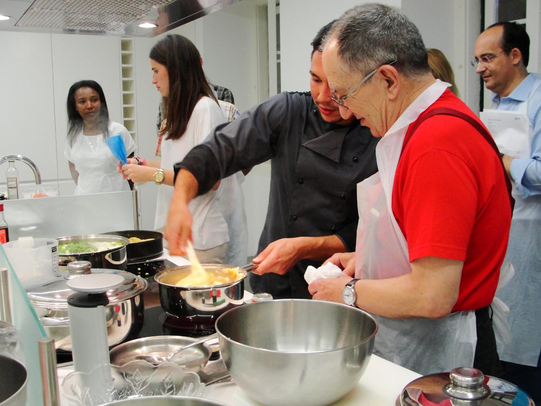 Cursos de cozinha da APDP com menus saudáveis