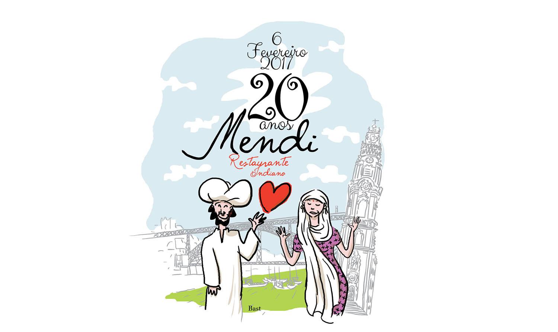 O Mendi faz anos no próximo dia 6 de Fevereiro