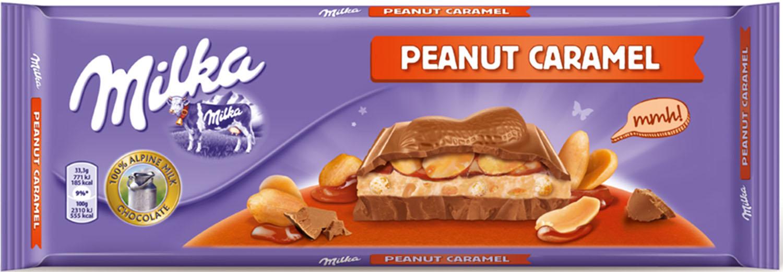 Milka com novos sabores de Caramelo e Amendoim
