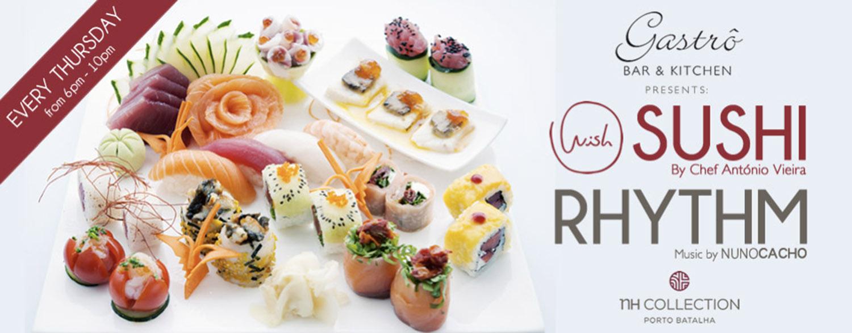 Live Sushi pelo chef António Vieira