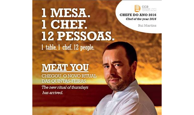 """Restaurante Rib inova com """"Meat you"""""""