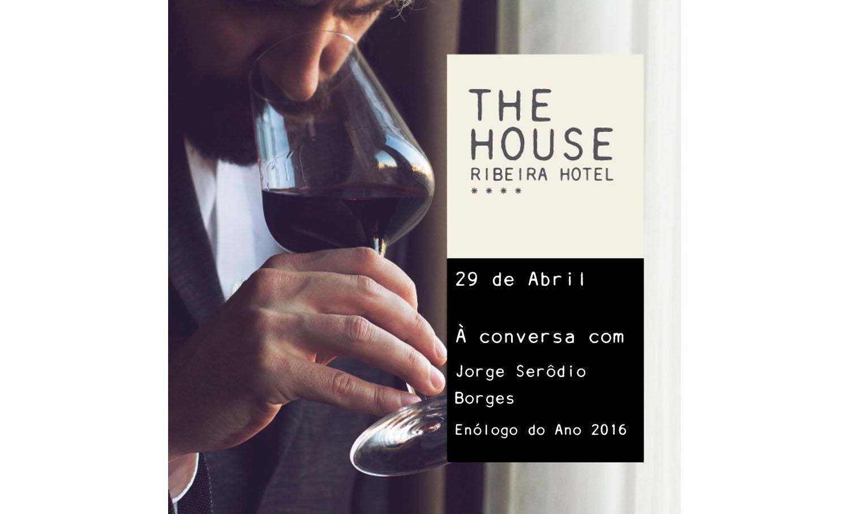 """""""À conversa com"""" Jorge Serôdio Borges a 29 de abril"""
