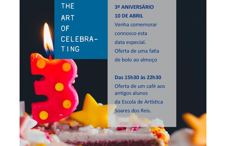 The Artist Porto Hotel & Bistrô celebra 3º aniversário de forma solidária
