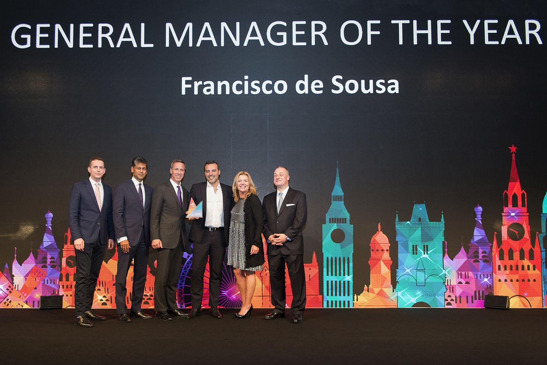 Francisco Nogueira de Sousa, melhor General Manager do grupo Marriott na Europa
