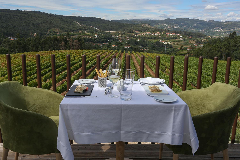 Jantar vínico no Monverde Wine Experience Hotel com Cortes de Cima