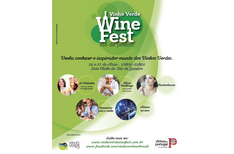 Vinho Verde Wine Fest no Rio de Janeiro