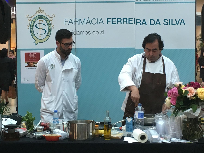 Chef Hélio Loureiro dá aula de culinária saudável no NorteShopping