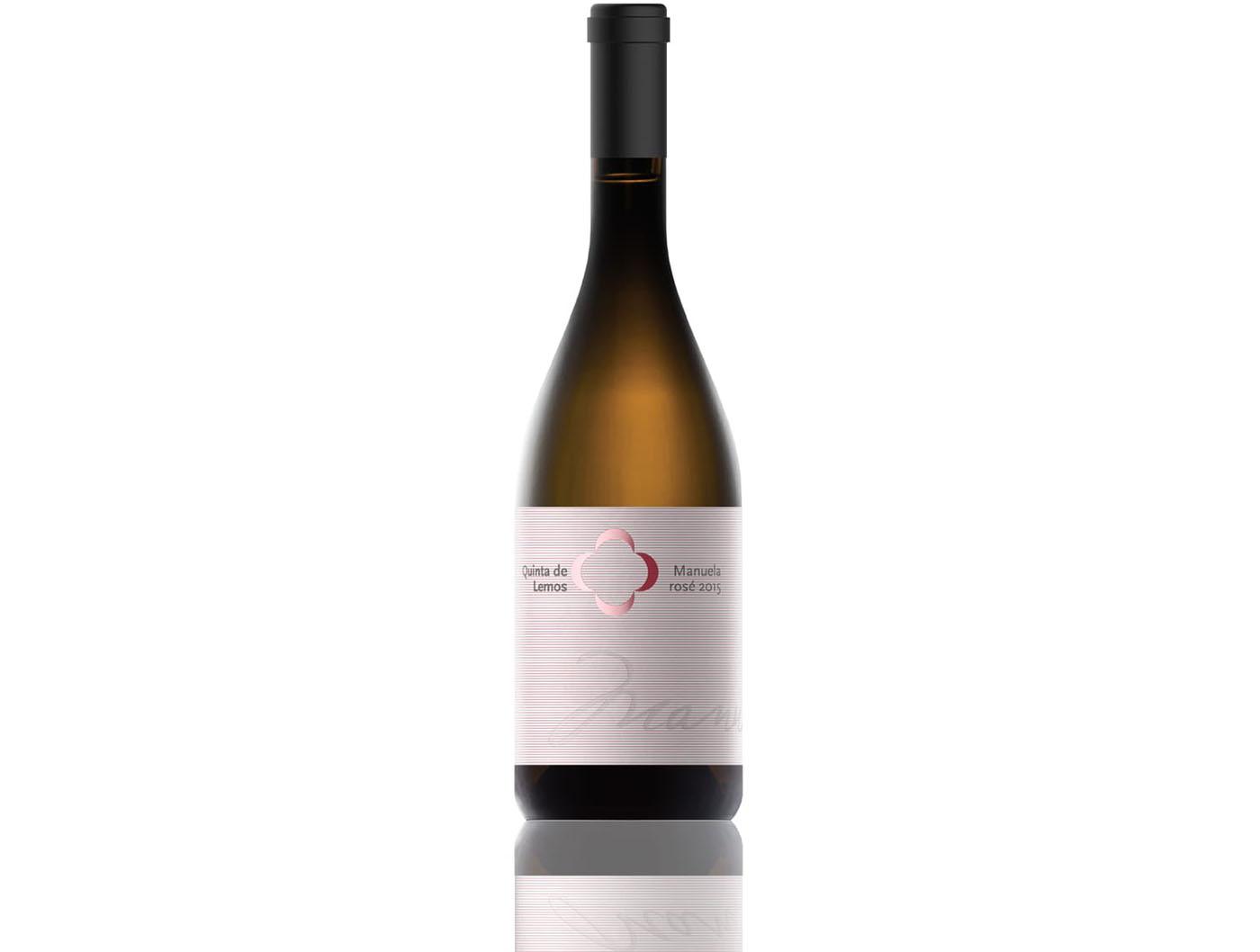 Manuela é o primeiro vinho rosé da Quinta de Lemos