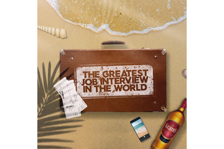 Grant's Whisky lança a melhor entrevista de emprego do mundo