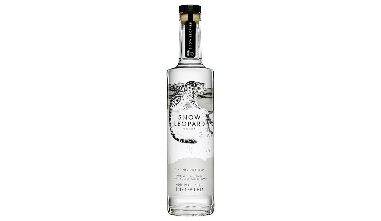 Snow Leopard, a primeira vodka produzida com espelta