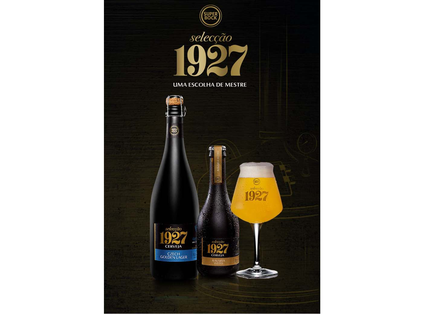 Cervejas Super Bock Selecção 1927 premiadas nos World Beer Awards