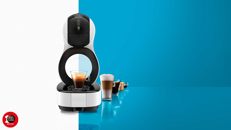 Nova máquina Lumio Nescafé Dolce Gusto
