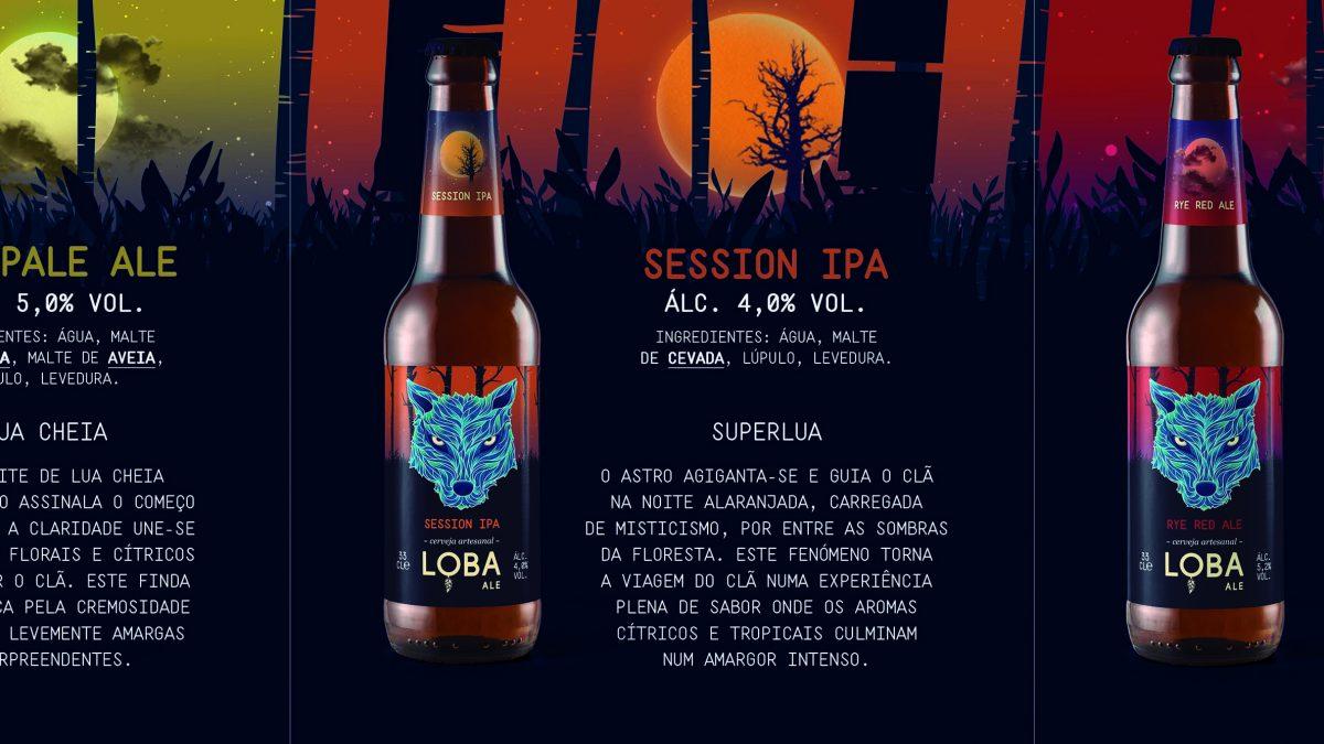 Cerveja artesanal Loba Ale nasceu no Porto
