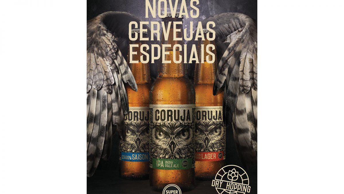 Coruja, são as duas novas cervejas da Super Bock