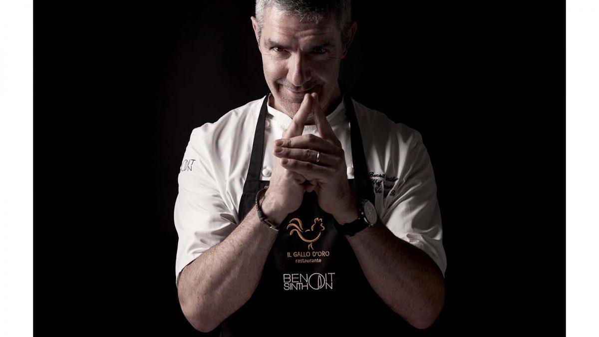 Benoît Sinthon vai cozinhar no Institut Paul Bocuse