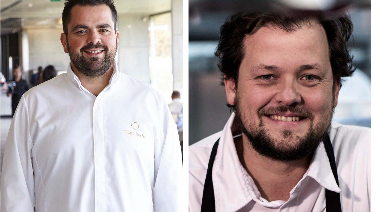"""No """"Chefs a Lemos"""" Diogo Rocha  recebe  João Rodrigues"""